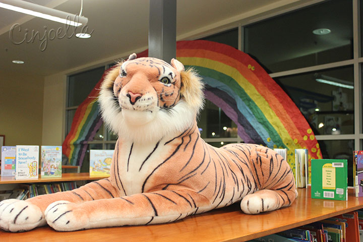 rainbow with tiger