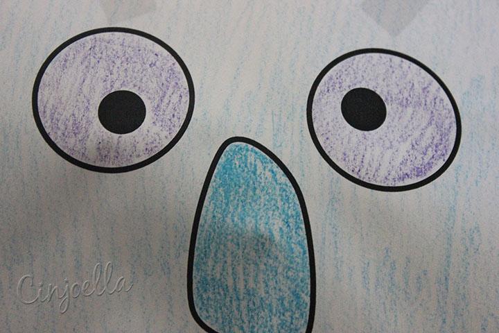 robot puppet eyes