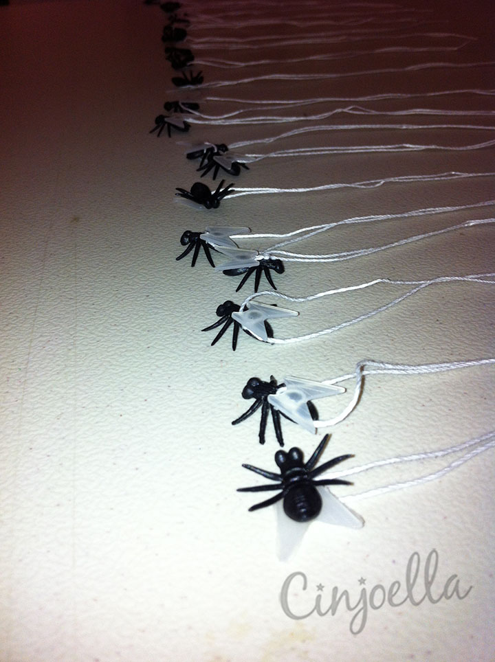 flies on strings