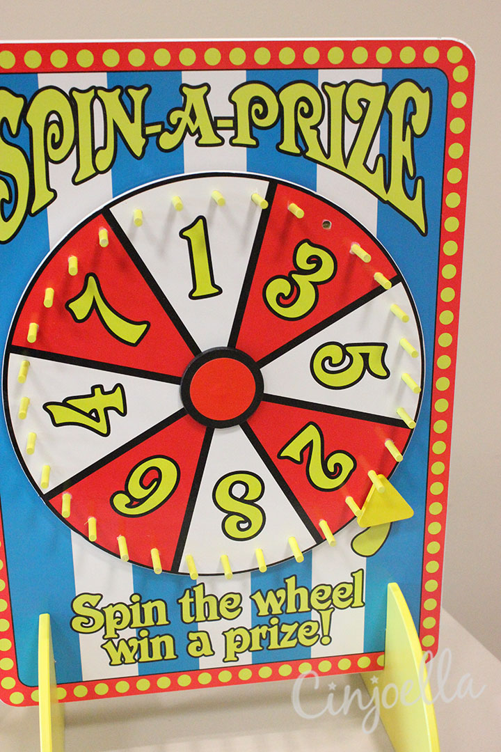 spin a prize