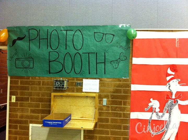 seuss photo booth