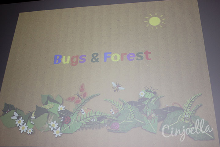 bugs and forest