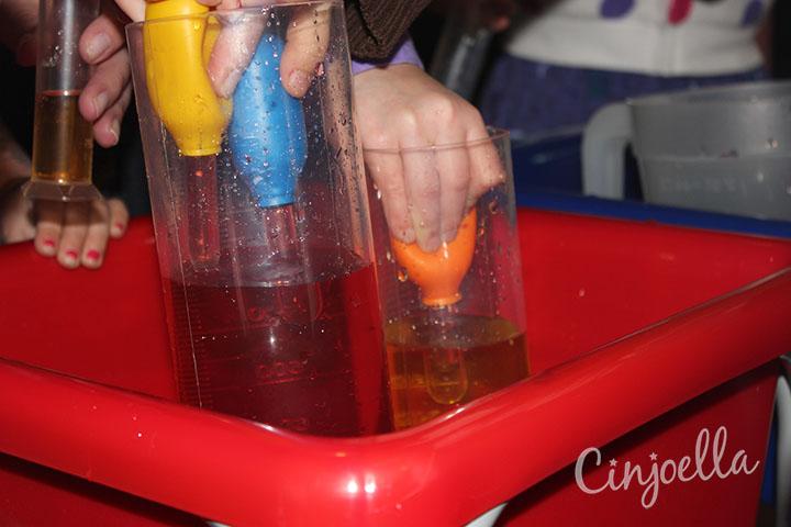 making orange water 2