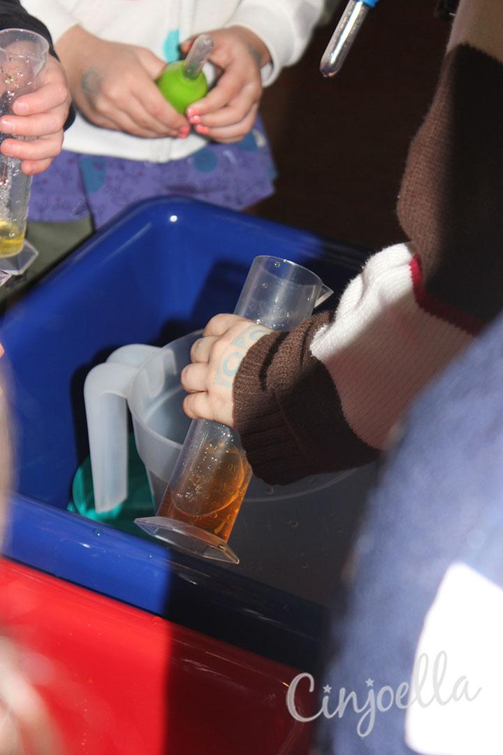 making orange water 3