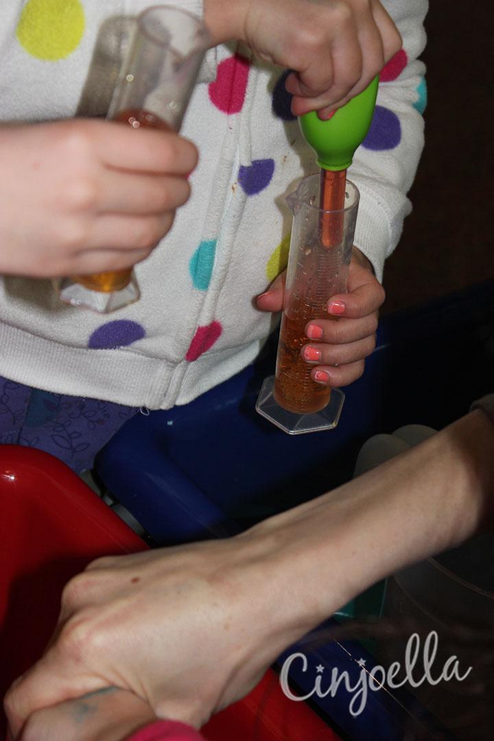 making orange water 5