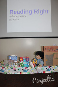 q and r story time set up