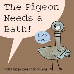 pigeon needs a bath