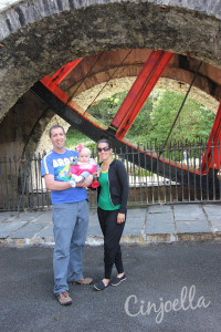 laxey wheel at the bottom