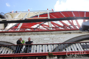 laxey wheel from down below